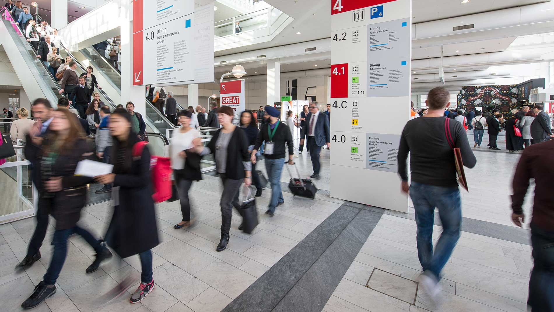 Exhibitor services for Ambiente messe frankfurt