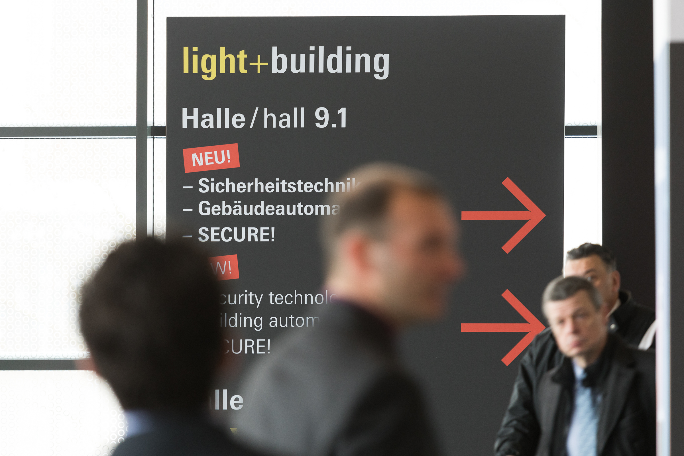 light + building, Messe Frankfurt 2018