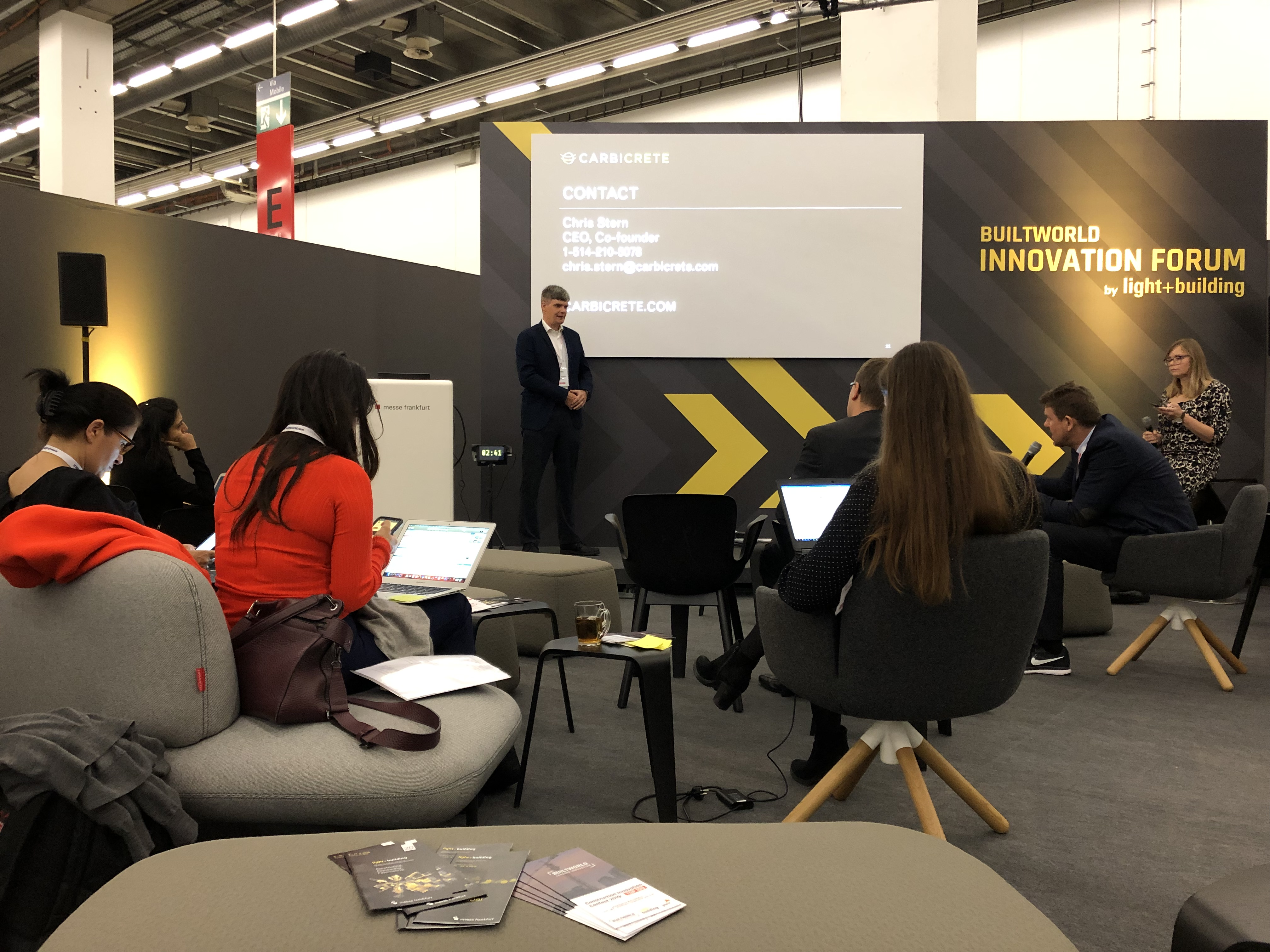 Builtworld Construction Innovation Contest: The two-day prepitch in hall 9.0 of Messe Frankfurt brought together jurors from the best-known established companies in the real estate and construction sectors as well as building technology.