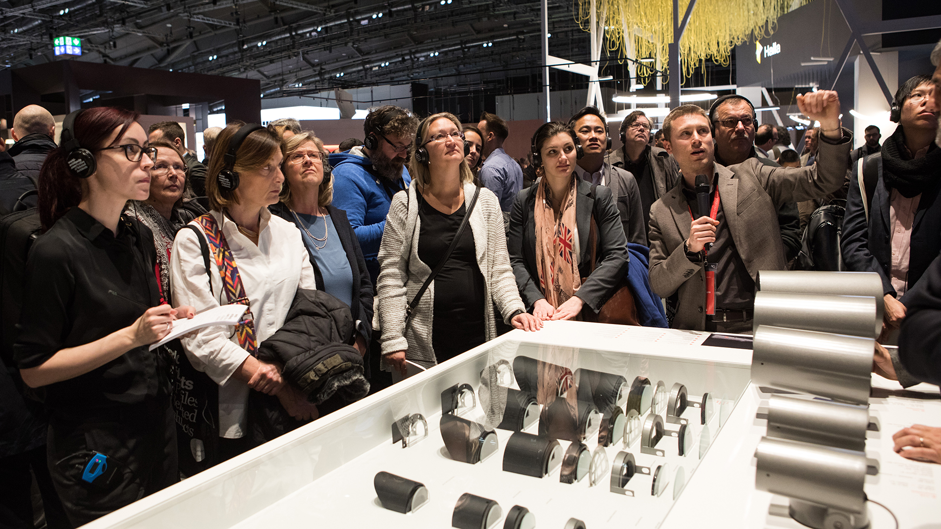Guided tour at Light + Building