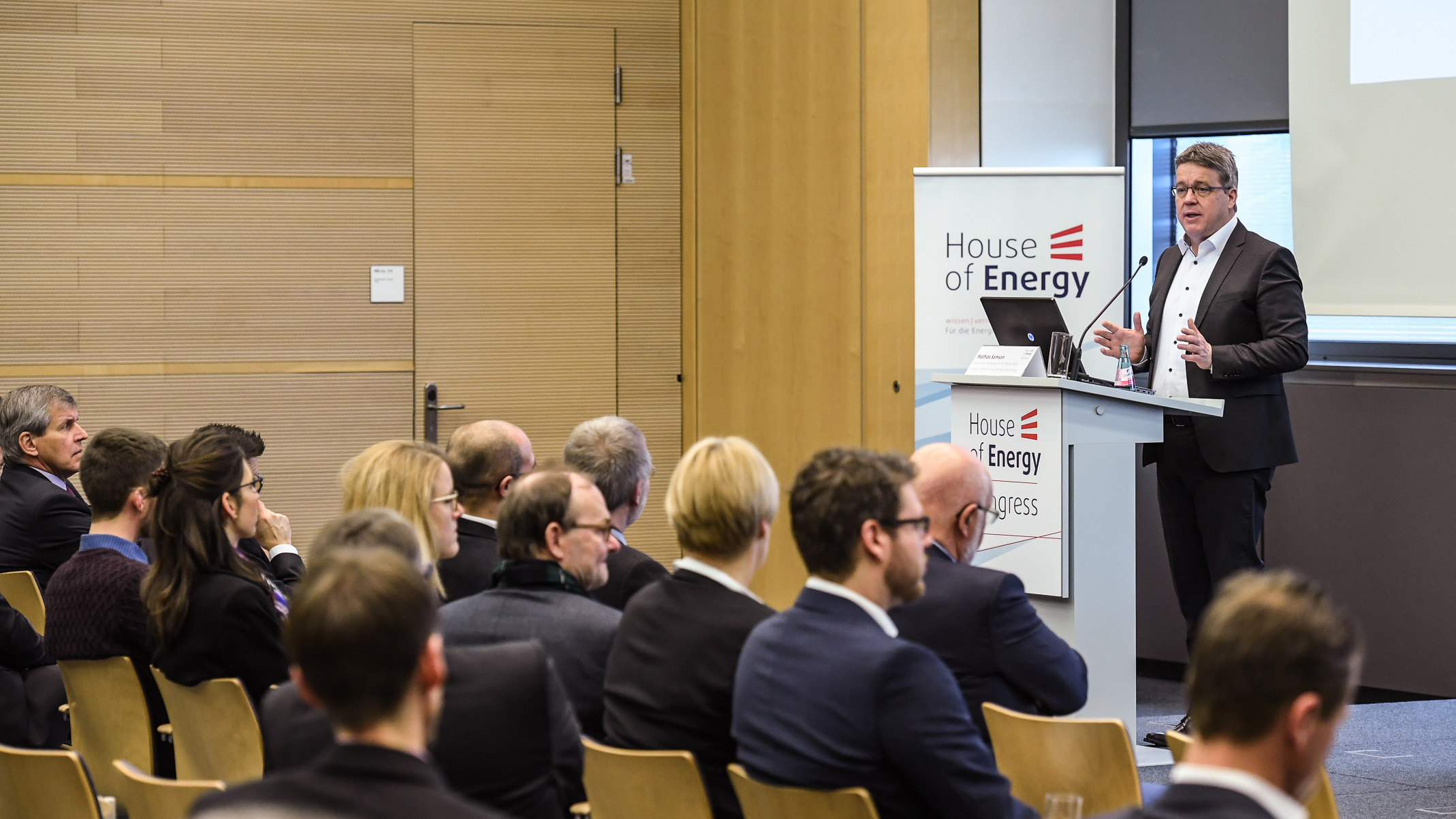 Vortrag beim House of Energy Kongress