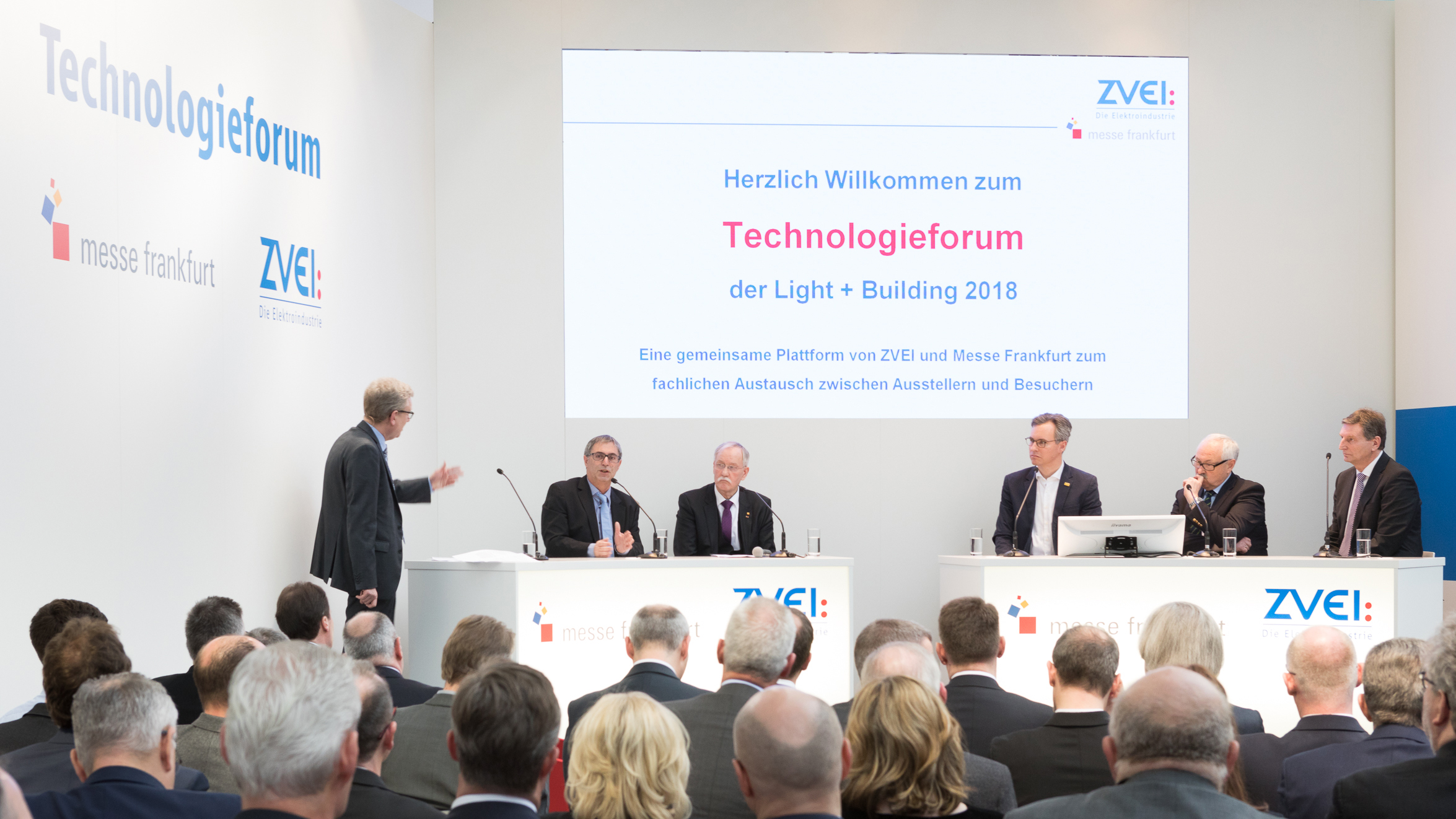 Technologieforum der Light + Building